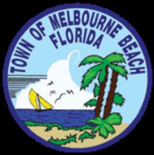 Melbourne Beach, Florida - Image: Seal of Melbourne Beach, Florida