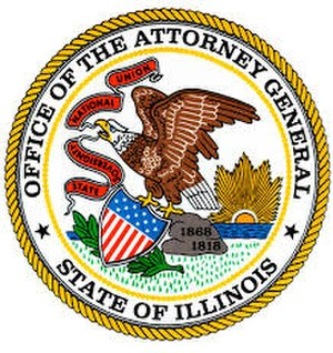 Illinois Attorney General - Image: Seal of the Attorney General of Illinois