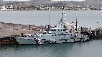 HMC Searcher - Image: Searcher Border Force ship (cropped)