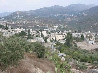 Sebastia, Nablus - View of Sebastiyah, 2009