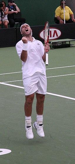 Sebastien Grosjean 2007 Australian Open R2