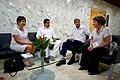 Secretary Kerry Sits With Venezuelan President Maduro (29956987705).jpg