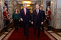 Secretary Kerry and Bulgarian President Plevneliev Walk Past the Honor Guard Before Their Meeting (16282939491).jpg