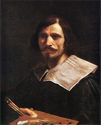 Guercino - Self portrait, c. 1635