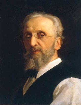 Antonio Ciseri - Self-portrait of Antonio Ciseri painted in 1888