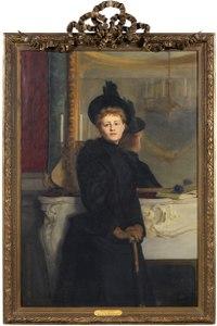 Self portrait (Ava Lagercrantz) - Nationalmuseum - 179957.tif