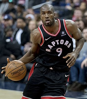 Serge Ibaka Congolese/Spanish basketball player