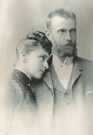 Princess Elisabeth of Hesse and by Rhine (1864–1918) - Sergei and his wife