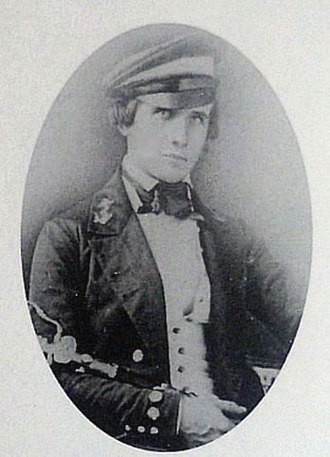 Seth Ledyard Phelps - Seth L. Phelps in Midshipman's uniform