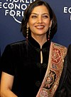 Shabana Azmi at the World Economic Forum in 2006