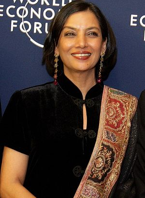 Shabana Azmi - Shabana Azmi at 2006 World Economic Forum