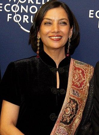 Shabana Azmi - Shabana Azmi at 2006 World Economic Forum