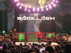 Backlash (2007) - Shane McMahon in the ring before his match at Backlash