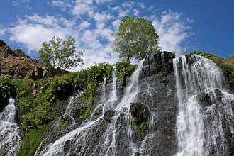 Nature - Shaki Waterfall, Armenia