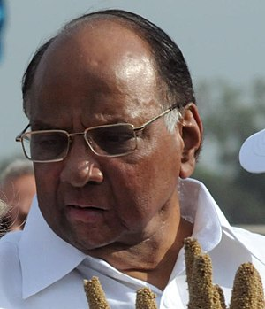 Politics of Maharashtra - Sharad Pawar,the most dominant political figure of Maharashtra politics for close to forty years
