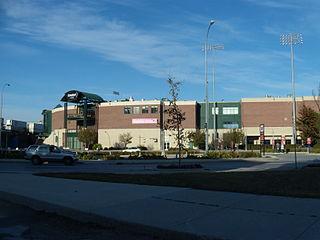 Shaw Park Baseball stadium in Winnipeg, Canada