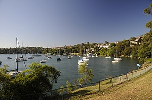Greenwich, New South Wales - View from Shell Park