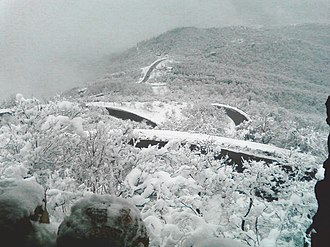 Climate of Azerbaijan - Winter in the Shamakhi District.