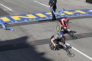 Shirley Reilly American wheelchair racer