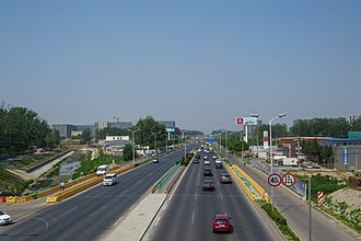 Shunyi District - Shunping Highway in Nanfaxin