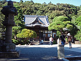 Shuzenji(temple), Hondo, 20110919 a.jpg