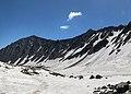 Siah Kaman Peak ^ Alam Chal Glaciers خروجی سیرک یخچالی علمچال و قله سیاهکمان - panoramio.jpg