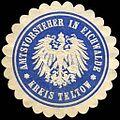 Siegelmarke Amtsvorsteher in Eichwalde - Kreis Teltow W0216292.jpg