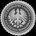Siegelmarke Der K. Landrath des Kreises Hofgeismar W0391095.jpg
