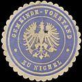 Siegelmarke Gemeinde-Vorstand zu Nichel W0382899.jpg