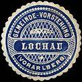 Siegelmarke Gemeinde-Vorstehung Lochau - Vorarlberg W0261566.jpg
