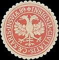 Siegelmarke Insignia Civitatis Caesaris Insulae W0386389.jpg