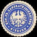 Siegelmarke Königlich Preussischer Landrath des Kreises Gifhorn W0217451.jpg