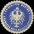 Siegelmarke K. Marine Kommando der I. Geleitflottille W0357389.jpg