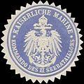 Siegelmarke K. Marine Kommando des II. Seebataillons W0357371.jpg