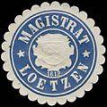 Siegelmarke Magistrat Lötzen-Ostpreußen W0387102.jpg