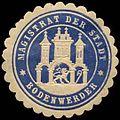 Siegelmarke Magistrat der Stadt - Bodenwerder W0239534.jpg