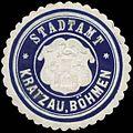 Siegelmarke Stadtamt Kratzau-Böhmen W0320488.jpg