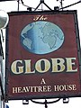 Sign for the Globe Inn, Chudleigh - geograph.org.uk - 929821.jpg