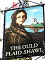 Sign for the Ould Plaid Shawl - geograph.org.uk - 1268263.jpg