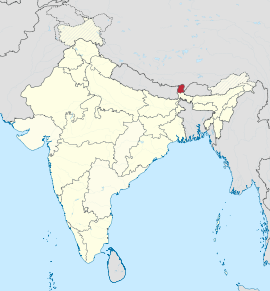 Sikkim in India (disputed hatched).svg
