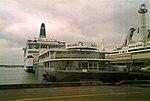 Silja Festival and Regina Baltica in Port of Tallinn July 1996.jpg