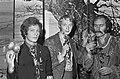 Simon Vinkenoog lanceerde Omega lp in Leidse Pleintheater Bob Lens, Simon Vinken, Bestanddeelnr 920-8112.jpg