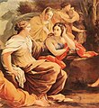 Simon Vouet - Parnassus or Apollo and the Muses (detail) - WGA25374.jpg