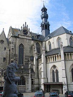 St. Leonards Church, Zoutleeuw Church in Zoutleeuw, Belgium