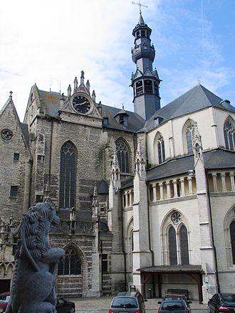 St. Leonard's Church, Zoutleeuw - Image: Sint Leonarduskerk 0
