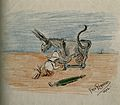 Sir Henry Solomon Wellcome. Pen and coloured pencil drawing Wellcome V0006206.jpg