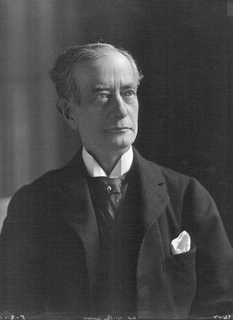 Sir William Anson, 3rd Baronet - Sir William Reynell Anson, 3rd Bt. (1843-1914), photographed 5 March 1906.