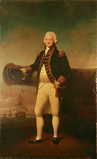 Sir Peter Parker, 1st Baronet Royal Navy admiral