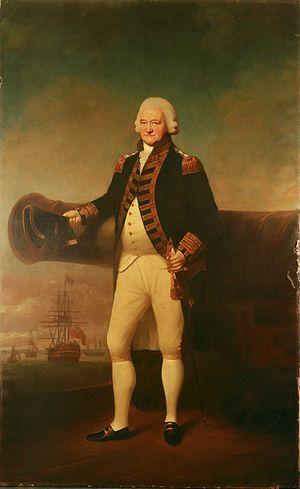 Battle of Sullivan's Island - Admiral Sir Peter Parker