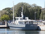 Sirius at Quay 22 Old City Marina Tallinn 2 July 2015.JPG